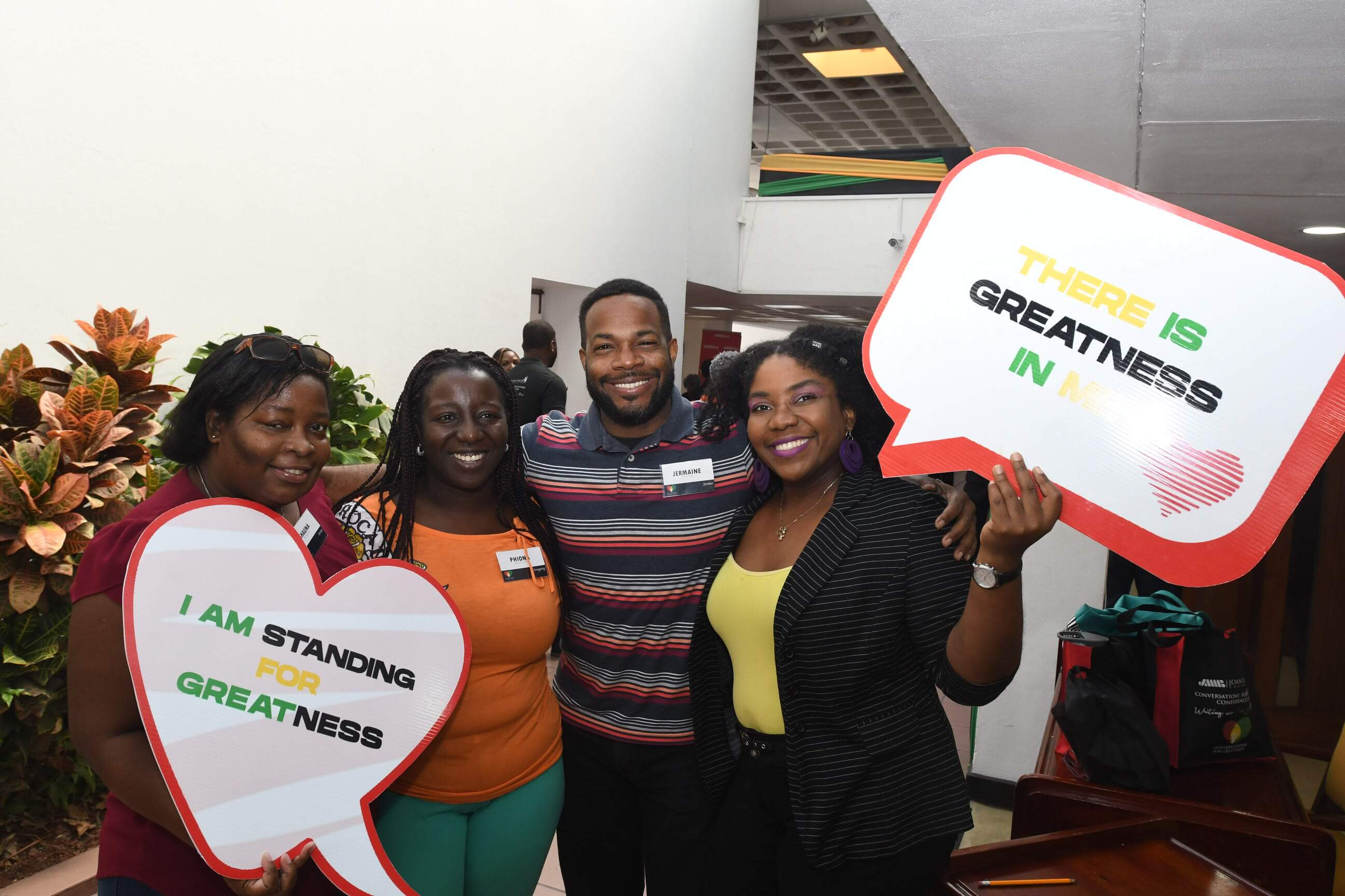 JMMB Joan Duncan Foundation conference participants 'standing for greatness'